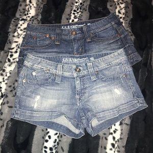 Guess shorts bundle of 2. Size 29